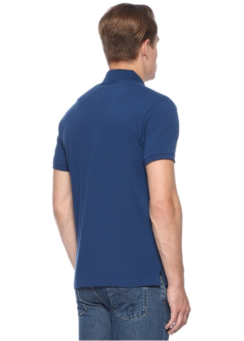 Regular Fit Lacivert Polo Yaka T-shirt