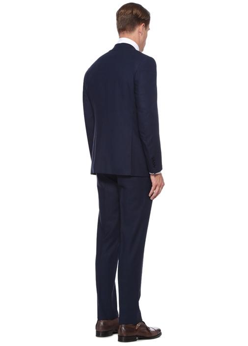 Impeccabile Drop 6 Lacivert Yün Takım Elbise