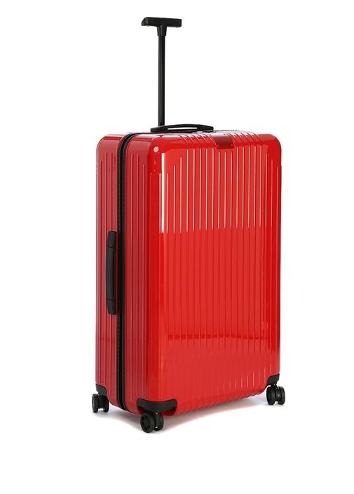 Essential Check In L Kırmızı Bavul
