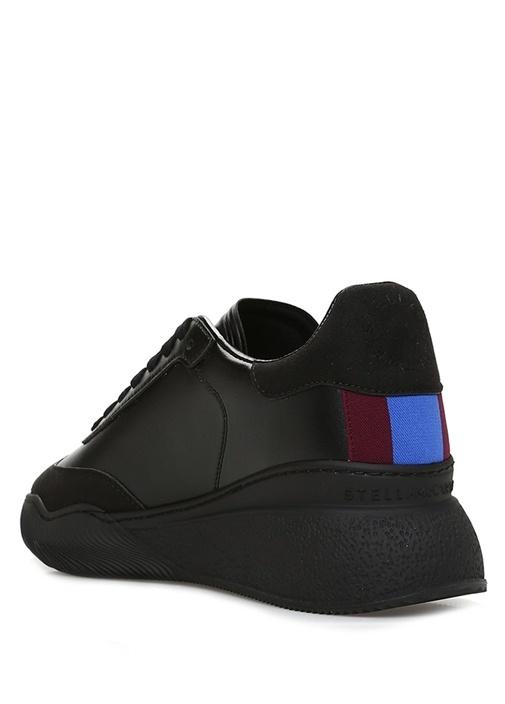 Siyah Logolu Kadın Sneaker