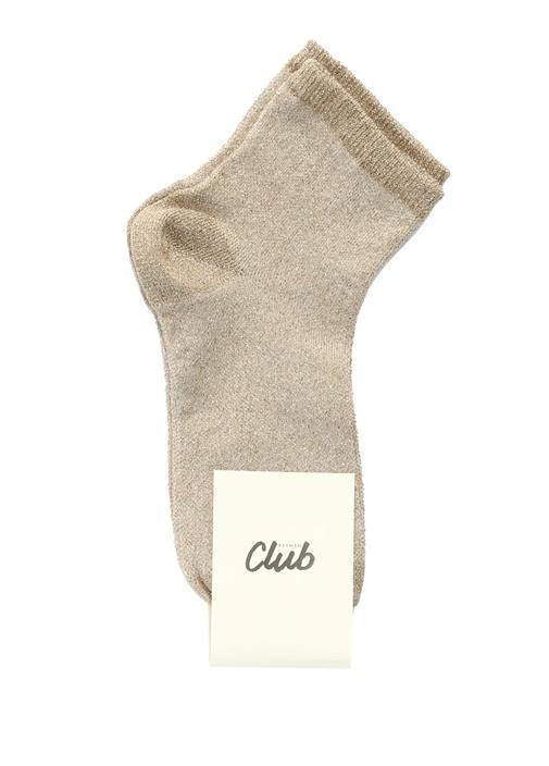 Gold Sim Dokulu Kadın Soket Çorap