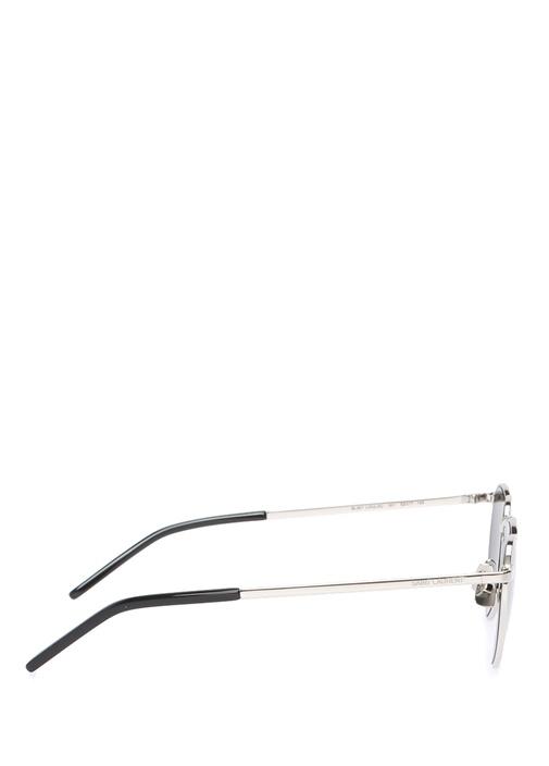 Loulou Silver Kalp Formlu Kadın Güneş Gözlüğü