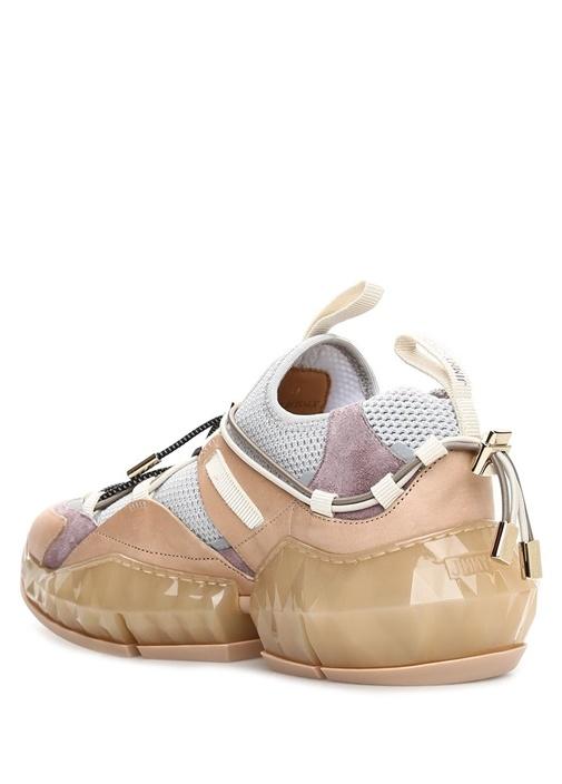 Diamond Colorblocked Taban Detaylı Kadın sneaker