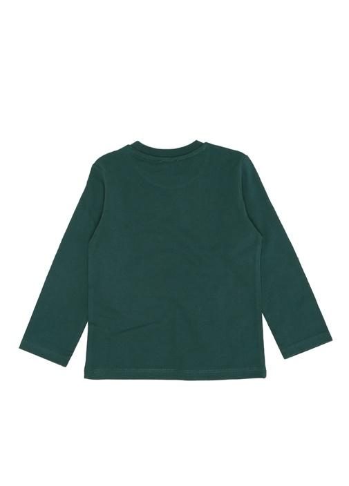 Tiger Yeşil Baskılı Erkek Çocuk Sweatshirt