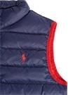 Lacivert Logo Nakışlı Erkek Çocuk Puff Yelek
