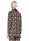 Adria Simli Balıksırtı Desenli Triko Ceket