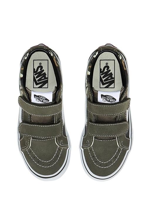 SK8 Mid Reissue V Yeşil Unisex Çocuk Sneaker