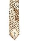 Yazı Baskılı İpek Kravat