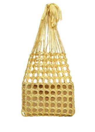 Mehry Mu Kadın Fey Market El Çantası Altın Rengi EU