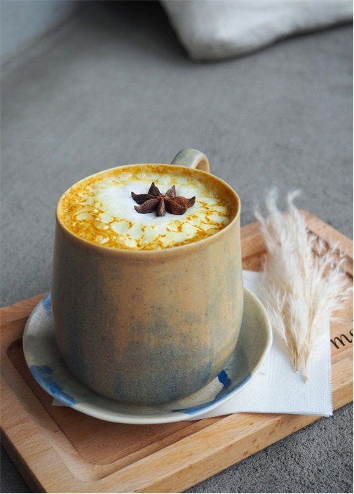 Golden Milk Zerdeçal Latte Çay