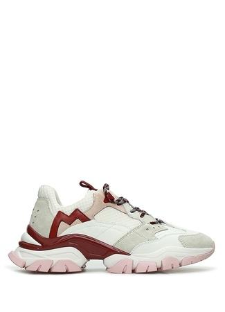 Moncler Kadın Leave No Trace Beyaz Deri Sneaker 35.5 EU female