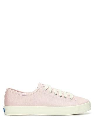 KEDS Kadın Pembe Kanvas Sneaker 37.5 EU female
