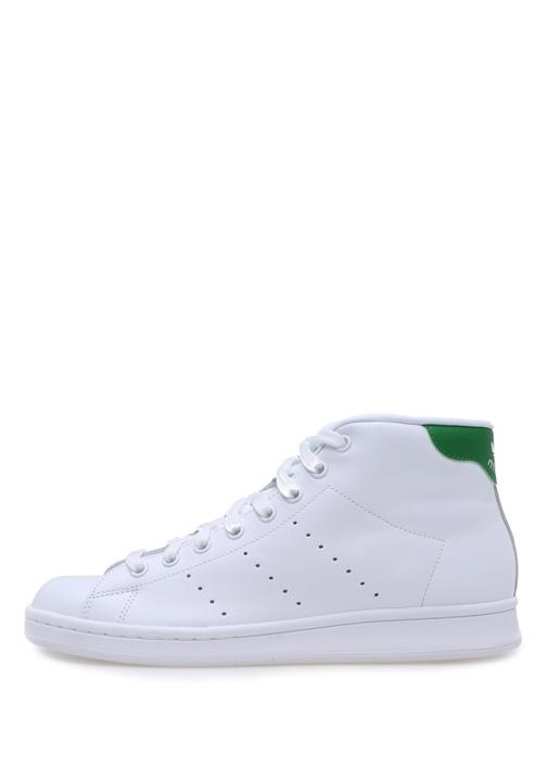 Stan Smith Mid Beyaz Kadın Sneakers