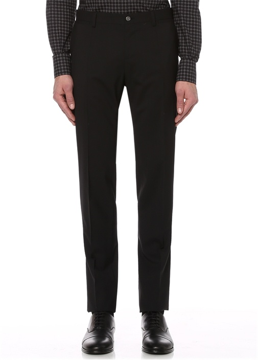 Siyah Yün Takım Elbise