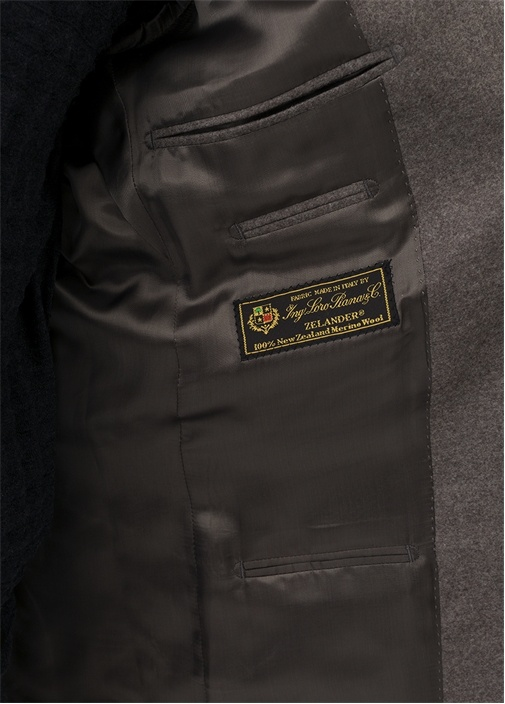 Drop 7 Açık Kahverengi Soft Yün Ceket
