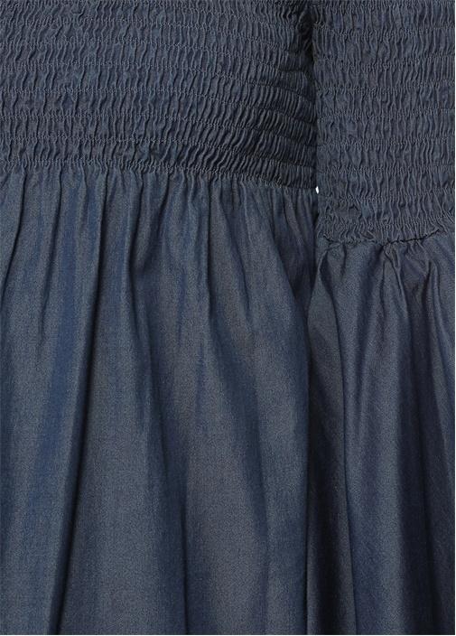 Appolonia Lacivert Bluz