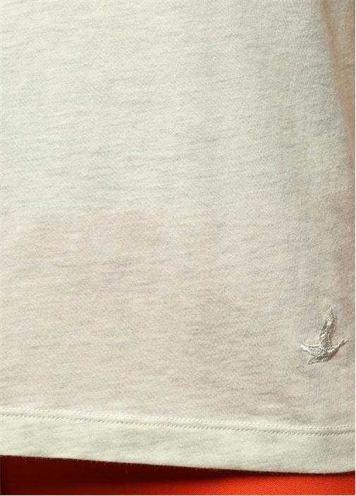 Kemik V Yaka Basic Tshirt