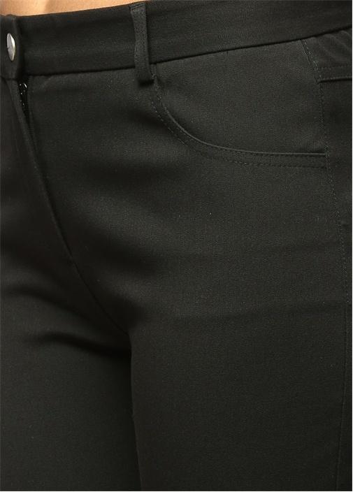 Siyah Skinny 5 Cepli Pantolon