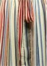 Colorblocked Çizgili Kolsuz Midi GömlekElbise