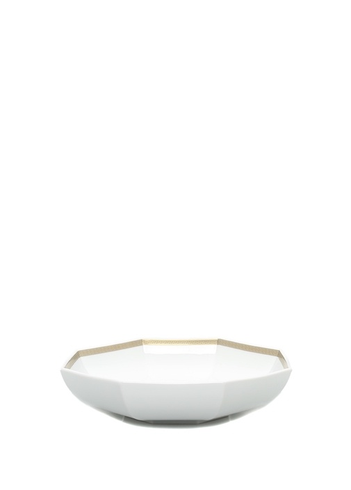 Gorgona Beyaz Gold 29 cm Porselen Kase