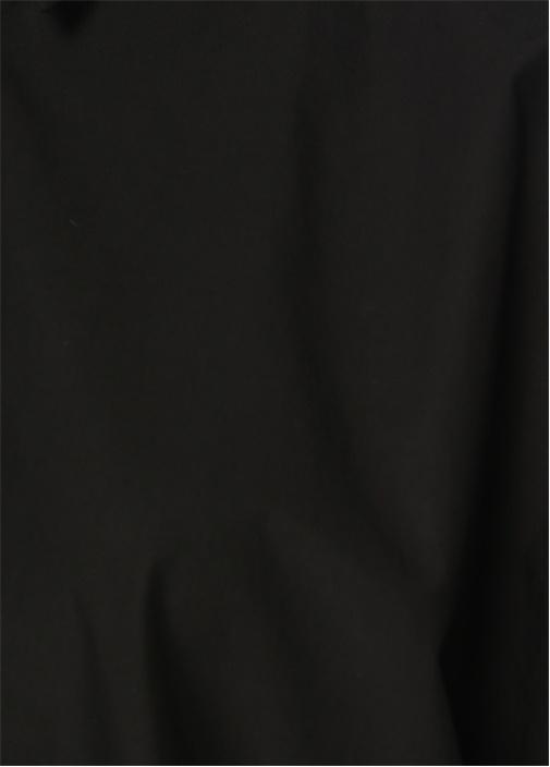 Siyah Kolda Boncuk Biye Gömlek
