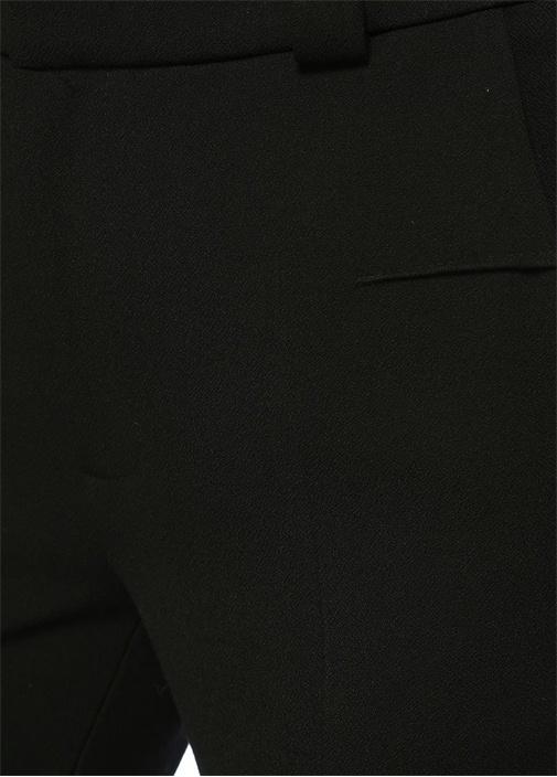Lacerta Siyah Normal Bel Cigarette Pantolon