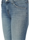 Mavi Eskitmeli 5 Cepli Crop Pantolon