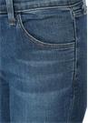 Normal Bel Dar Paça Crop Jean Pantolon