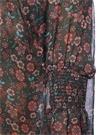 Çiçek Baskılı Şifon Bluz