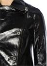 Deebee Siyah Deri Ceket