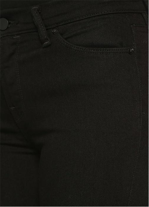 Grace Siyah Normal Bel Slim Paça Jean Pantolon