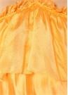 Dream Turuncu Fırfırlı Midi Elbise