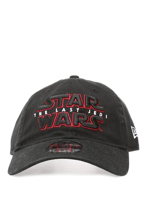 Siyah Star Wars Nakışlı Erkek Şapka