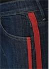 Insider Crop Lacivert Jean Pantolon
