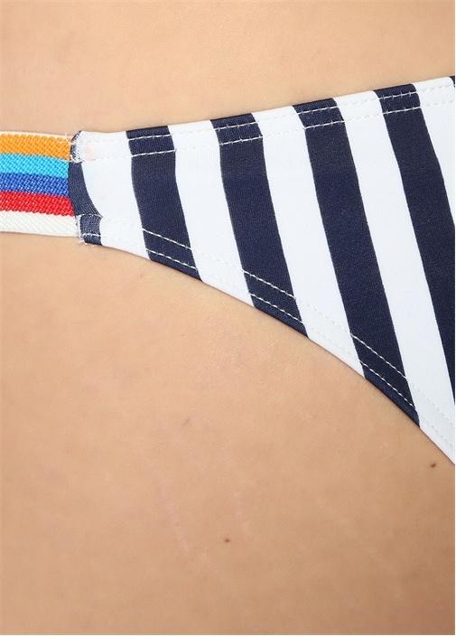 Sizzle Çizgi Desenli Şeritli Bikini Altı