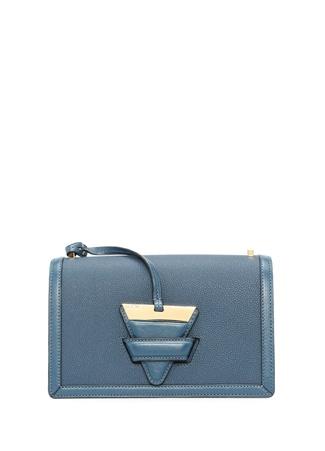 Loewe Kadın Barcelona Mavi Aksesuar Detaylı Deri Çanta Lacivert Ürün Resmi