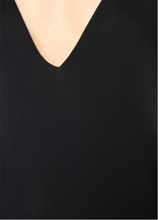 Julie Siyah Sırtı İpli Mayo