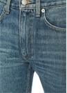 Yüksek Bel Boru Paça Jean Pantolon