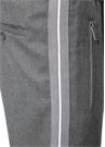 Gri Yanları Şeritli Dar Paça Spor Pantolon