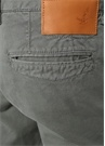 Slim Fit Koyu Yeşil Dokulu Chino Pantolon