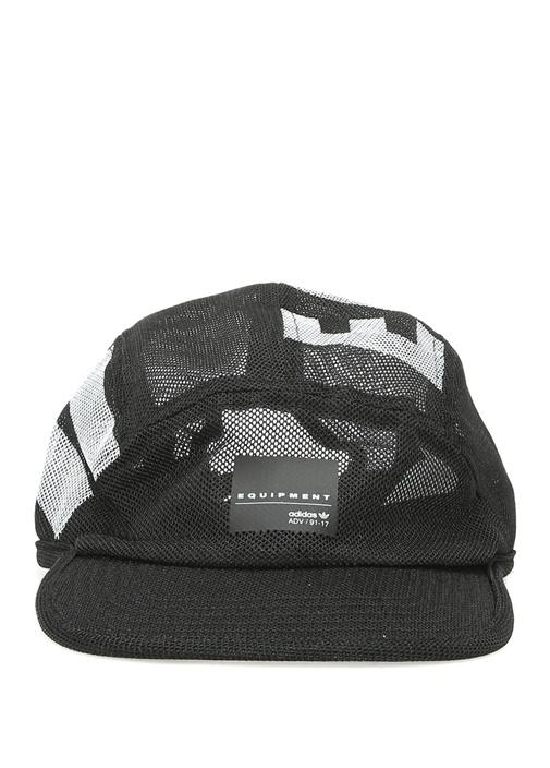 5 Panel Siyah Erkek Şapka