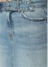 Bette Açık Mavi Mini Jean Etek