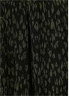 Siyah Haki Kalpli Leoparlı Pileli Mini Etek