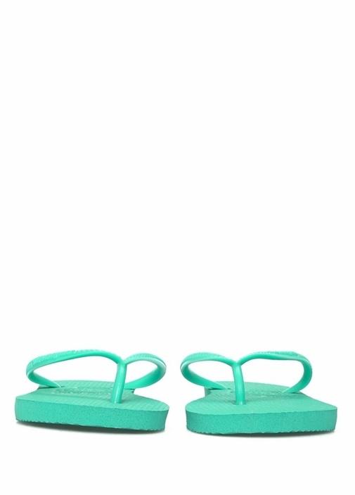 Slim Yeşil Unisex Çocuk Plaj Terliği