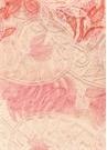Pembe Kırmızı Dantelli Mini Etek