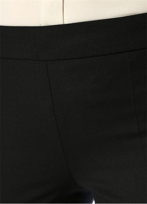 Siyah 4 Cepli Chino Pantolon