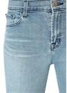 Ruby Yüksek Bel Paça Detaylı Crop Jean Pantolon