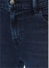 Ruby Çizgili Yüksek Bel Cigarette Jean Pantolon