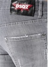 Cool Guy Gri Fırça Darbeli Jean Pantolon