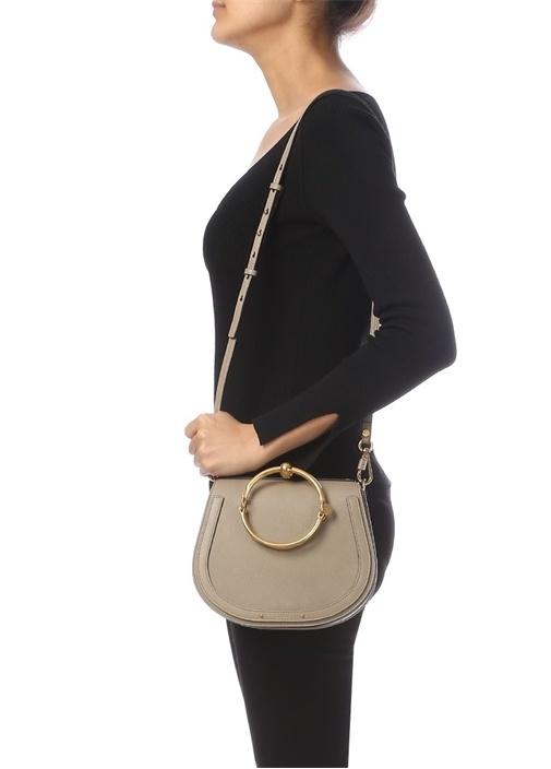 Nile Bracelet Vizon Kadın Deri Çanta